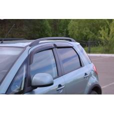 Дефлекторы боковых окон для Suzuki SX-4 хетчбэк 2006-2014