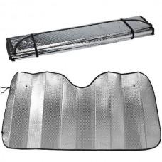 Шторка солнцезащитная на лобовое стекло 140х70