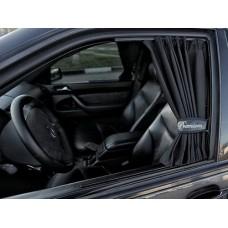 Шторки автомобильные PREMIUM 70 S (37-44 см.) ткань непрозрачная