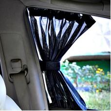 Шторки автомобильные PREMIUM 70 S (37-44 см.) ткань-сетка