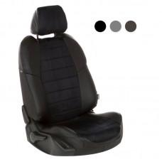 """Автомобильные чехлы """"Автопилот"""" LIFAN X60 2012+ экокожа+алькантара"""