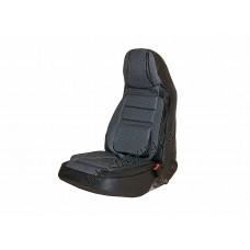 Авточехлы для ВАЗ 2110/Приора седан (2007-2014) жаккард дутый черный