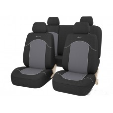 Авточехлы универсальные GTL FAST черный/темно-серый