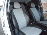 Авточехлы Hyundai Solaris 1(2010-2017) Автопилот черный+серый Ромб