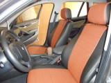 """Авточехлы """"Автопилот"""" установка на   BMWX1 (2014 г.в.) черный+коричневый"""