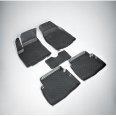 Резиновые коврики с высоким бортом для Hyundai Elantra VI (Хендай Элантра 6) с 2015 г.в.