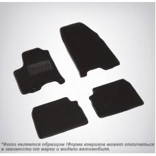Ворсовые коврики LUX для BMW 3 E90 (БМВ 3 Е90) 2005-2013