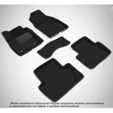 Коврики ворсовые 3D для BMW 5 серия F-10 (2009-2013) черные